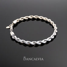 Load image into Gallery viewer, Stainless Steel Rope Bracelet