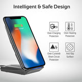 Universal 10Watt Ultra-Fast Multi-Angle Wireless Charging Stand