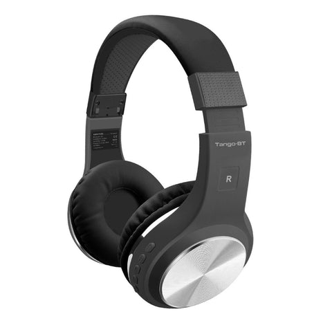 Foldable On-Ear Wireless Stereo Headset with Built-in Music Controls
