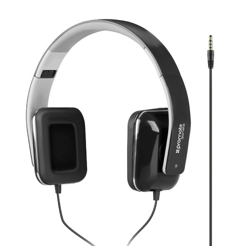 Foldable Over-The-Ear Wired Stereo Headset