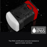 Super Bright LED Camping Light with 10000mAh Backup Battery