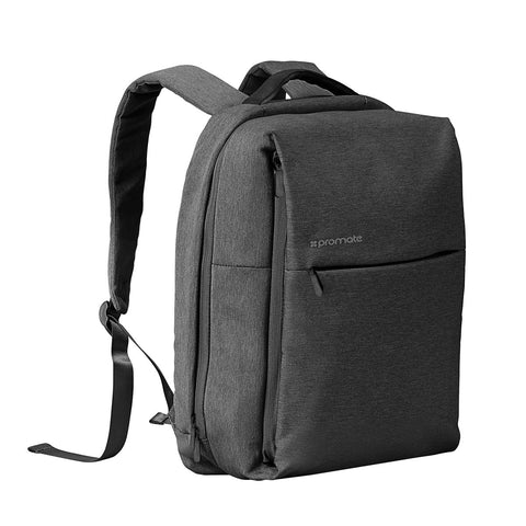 Canvas Styled Durable Backpack with Multiple Pockets for Laptops up to 15.6""