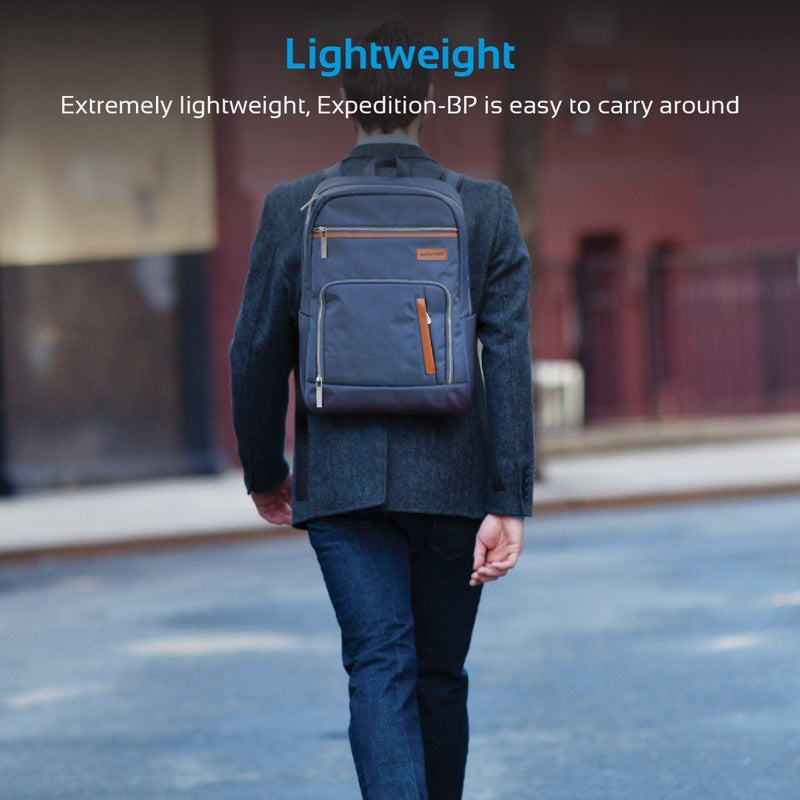 Lightweight All-terrain Backpack with Multiple Pockets for Laptops up to 15.6""