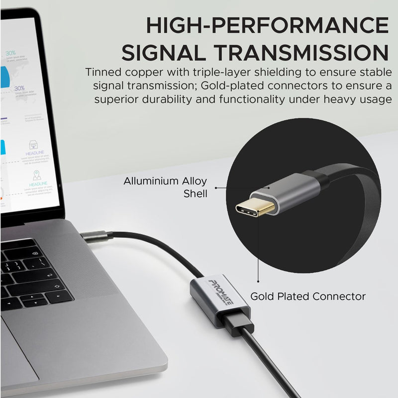 High Definition Usb C To Hdmi Adapter Promate Phillipines