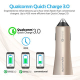 Robust Car Charger with Qualcomm Quick Charge 3.0 Dual USB Port