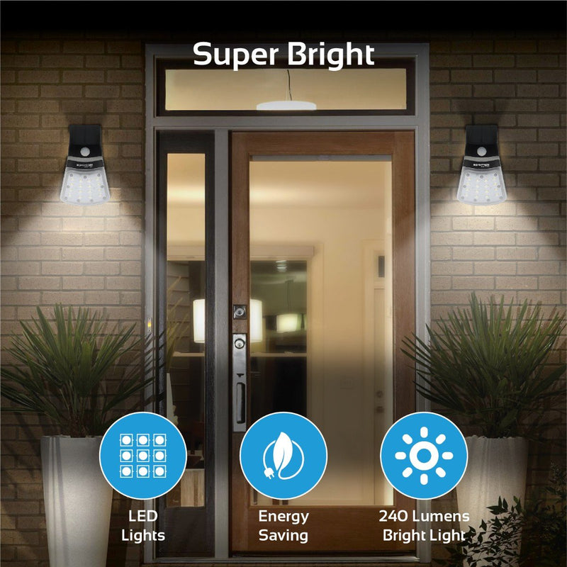 Super Bright Outdoor Solar Light with Dual-Lighting Modes