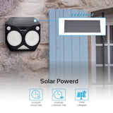 Intelligent Solar Powered Pathway Lights with Energy Saving for Outdoor