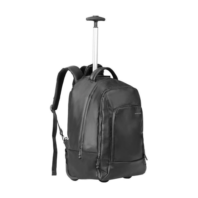 Multi-Terrain High-Capacity Trolley Bag with Multiple Compartments for Laptops Up to 15.6""