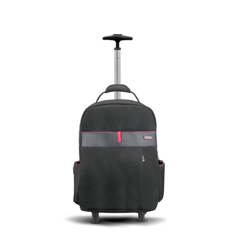 "Multi-Purpose Portable Trolley Bag for Laptops up to 15.6"" with Multiple Storage Options"