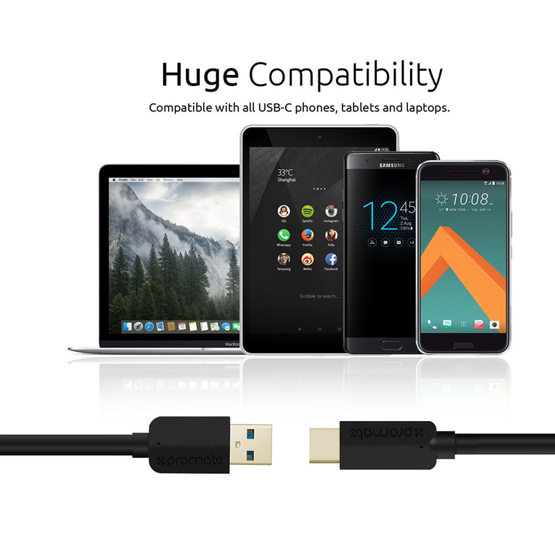 Premium USB 3.1 Type-C to USB-A Cable