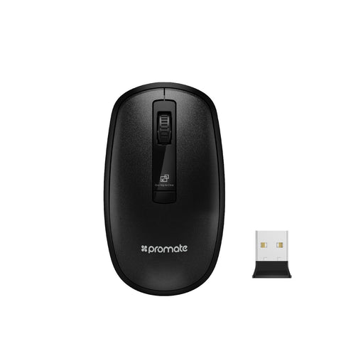 Ergonomically Designed Wireless Optical Mouse With Precision Scrolling