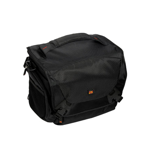 Compact Hybrid SLR and DSLR Camera Bag with Multiple Pockets