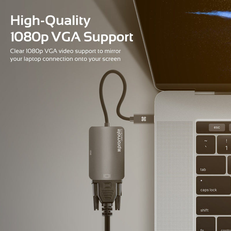 2-in-1 USB 3.1 USB-C Type-C™ Display Adapter with VGA and HDMI