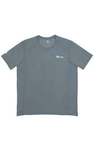Krotan Genesis short sleeve grey athletic shirt for men