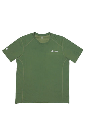Krotan Genesis short sleeve green athletic shirt for men