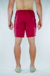 Krotan Mission M1 board short style red athletic short for men