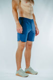 Krotan Switchback blue athletic fit athletic short for men