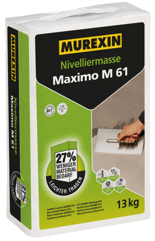 MUREXIN Nivelliermasse Maximo M 61 / 13kg