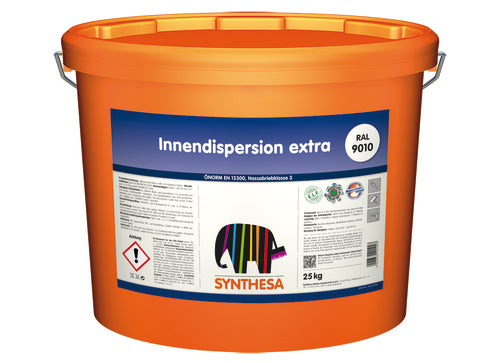 SYNTHESA Innendispersion extra RAL 9010 / 25kg