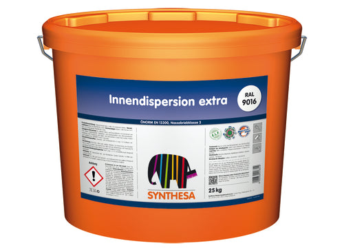 SYNTHESA Innendispersion extra RAL 9016 / 25kg