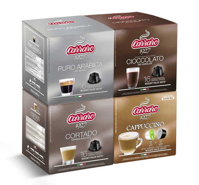 Carraro Bestseller Dolce Gusto® Variety Pack [Bundle of 4]