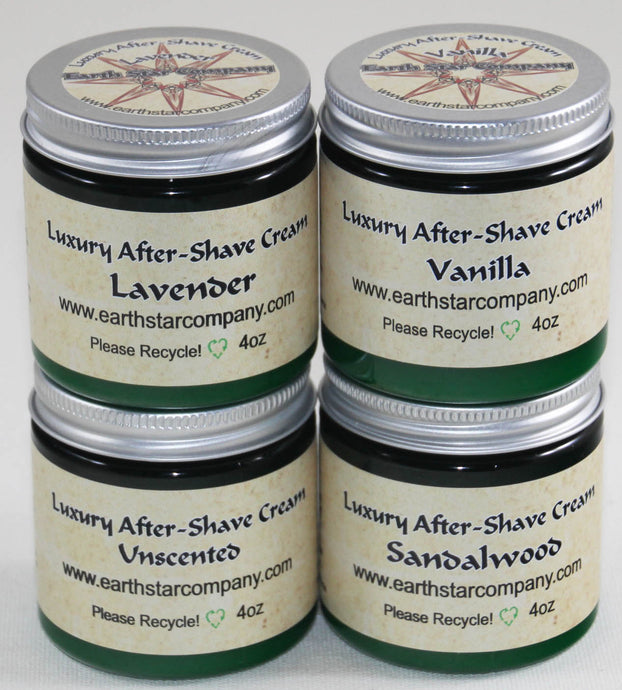 Luxury Organic After Shave Cream