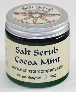 Cocoa Mint Salt Scrub