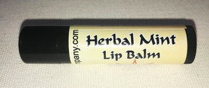 Natural Lip Balm Herbal Mint