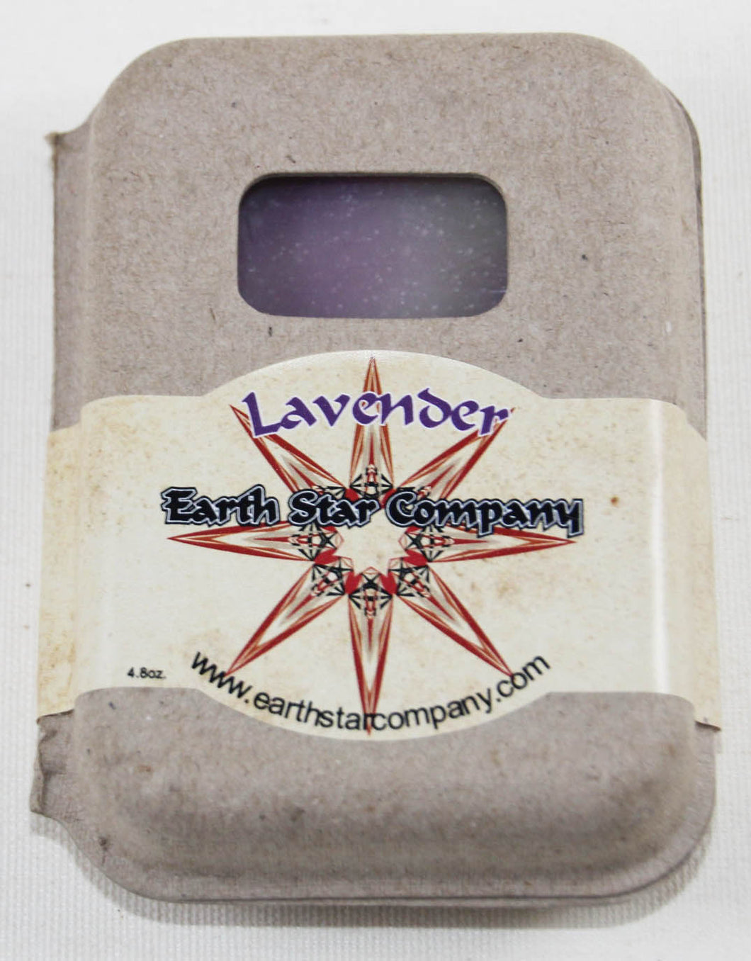 Lavender Cold Process Soap Bar in Recycled Packaging