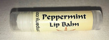 Load image into Gallery viewer, Natural Lip Balm Peppermint
