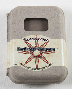 Sandalwood Cold Process Soap in Recycled Packaging