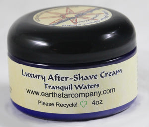 Luxury Organic After Shave Cream Tranquil Waters