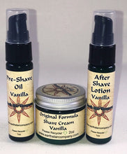 Load image into Gallery viewer, Original Formula Shaving Travel Kit Vanilla