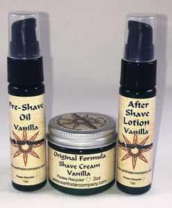 Original Formula Shaving Travel Kit Vanilla