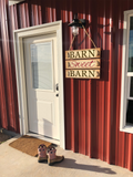 Barn Sweet Barn | Rustic Wooden Sign
