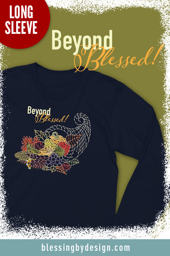 Beyond Blessed String Art | Women's Long Sleeve