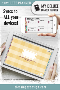 2021 Butter Deluxe Digital Planner