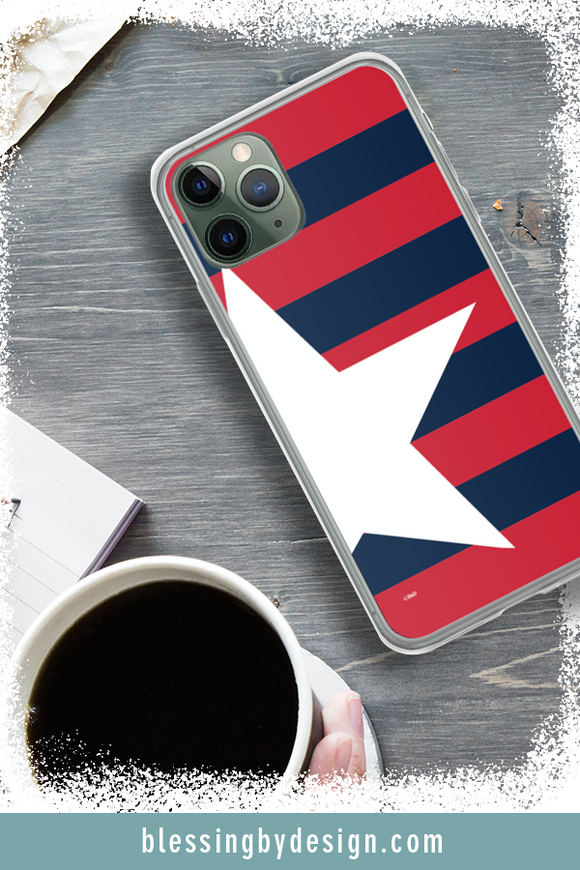 USA BIG Star | iPhone Case