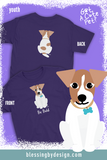 Jack Russell Bold | Youth T-Shirt