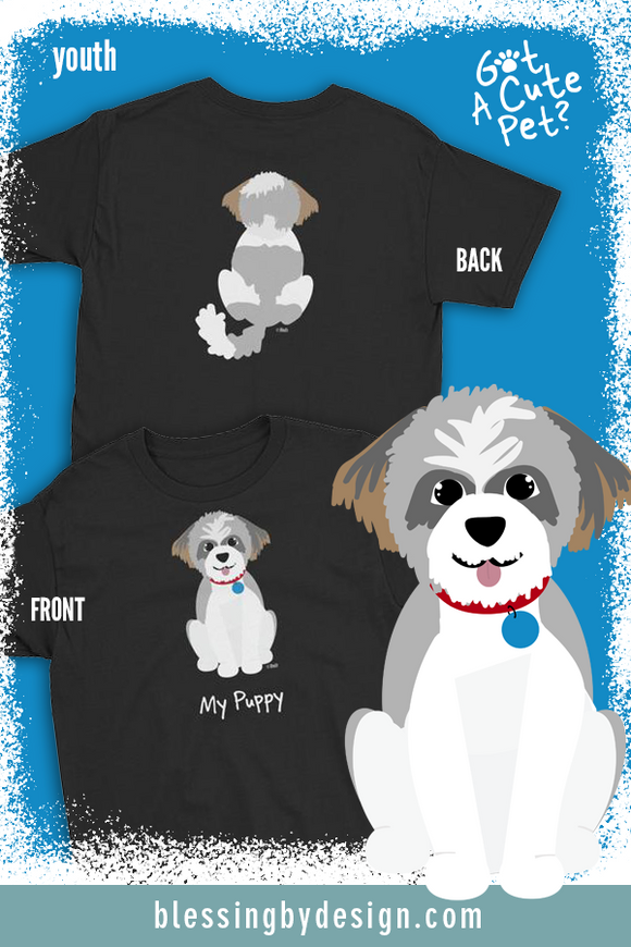 Shih Tzu My Puppy | Youth T-Shirt