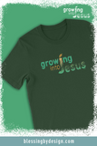 Growing into Jesus Sketch | Unisex T-Shirt