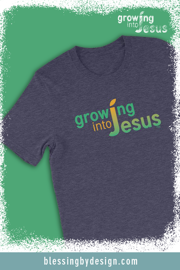 Growing into Jesus Solid | Unisex T-Shirt