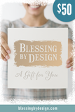 Blessing by Design Gift Card