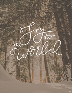 Joy to the World | Digital Download