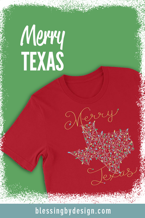 Merry Texas String Art | Unisex T-Shirt
