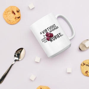 More Precious Than Rubies | 15oz Mug