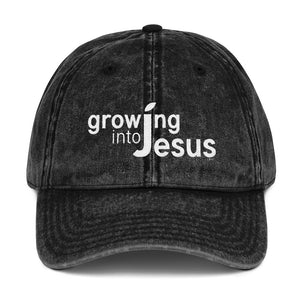 Growing into Jesus | Vintage Cap