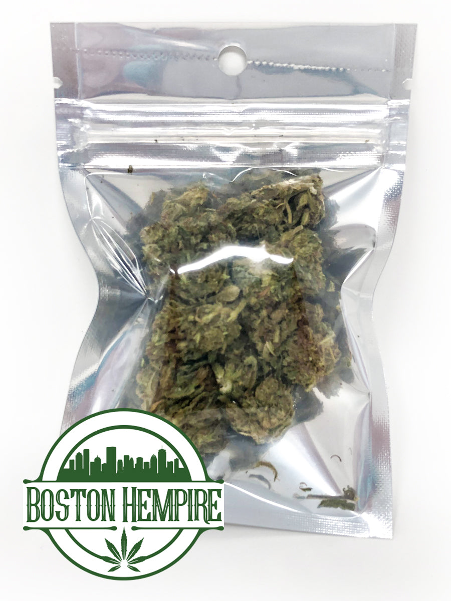 500 Units - 1/8oz Retail Bags of Elektra Hemp Flower