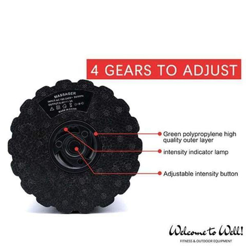 4-Speed Electric Vibrating Foam Roller