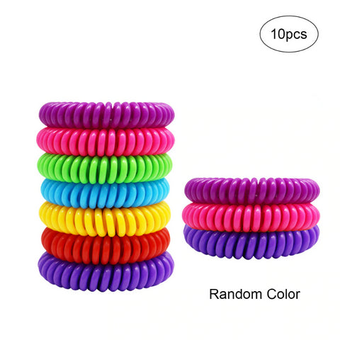 Outdoor Insect Repellent Bracelet (10 units)